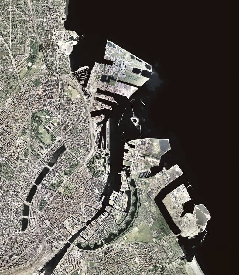 cobe nordhavn satellite view
